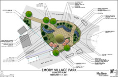 New park planned for Emory Village